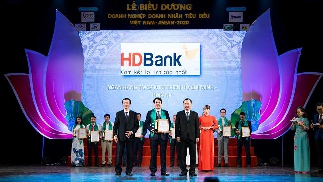 HDBank nhận giải Doanh nghiệp tiêu biểu Việt Nam – ASEAN 2020