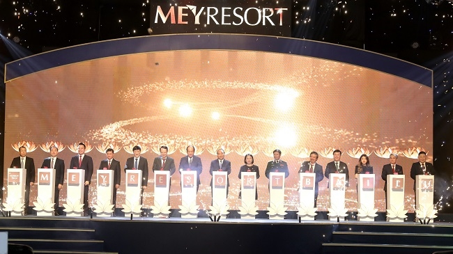 Tân Á Đại Thành khởi công MEYRESORT Bãi Lữ