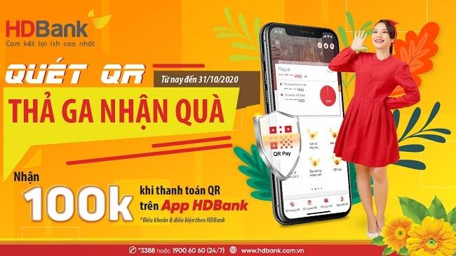 HDBank tặng khách hàng ngàn phần quà và tiền vào tài khoản mừng 20/10