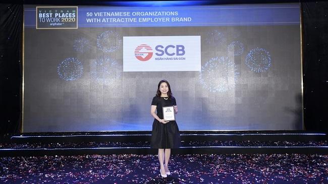 SCB nằm trong 10 ngân hàng Việt có môi trường làm việc tốt nhất