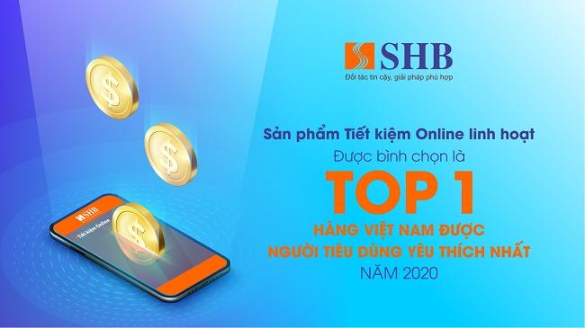 Sản phẩm của SHB được vinh danh Hàng Việt Nam được người tiêu dùng yêu thích nhất