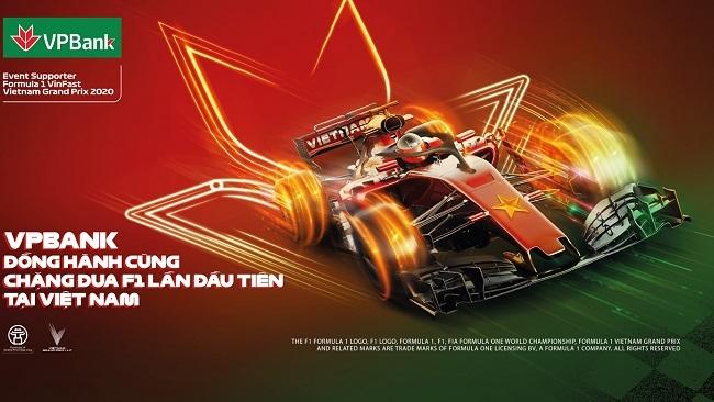 VPBank giảm 5% giá và tặng vé miễn phí giải đua F1 Việt Nam Grand Prix