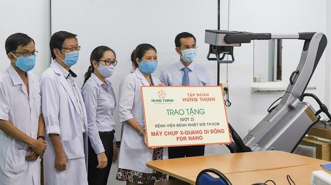Tập đoàn Hưng Thịnh và Gỗ An Cường chung tay chống dịch Covid-19