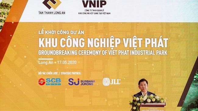 SCB tài trợ vốn dự án Khu công nghiệp Việt Phát