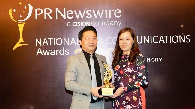 Vietjet nhận giải 'Thương hiệu Việt Nam truyền cảm hứng toàn cầu'