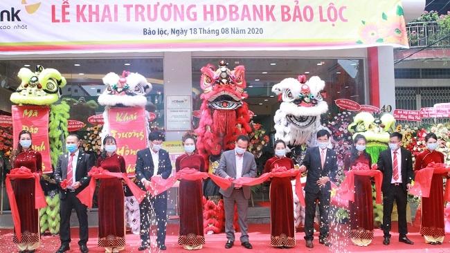 HDBank đưa vào hoạt động 4 điểm giao dịch mới