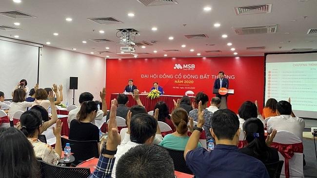 Đại hội cổ đông MSB bầu ông Nguyễn Hoàng Linh vào HĐQT