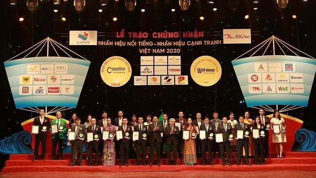 """Văn Phú - Invest lọt """"Top 20 nhãn hiệu Nổi tiếng Việt Nam"""""""