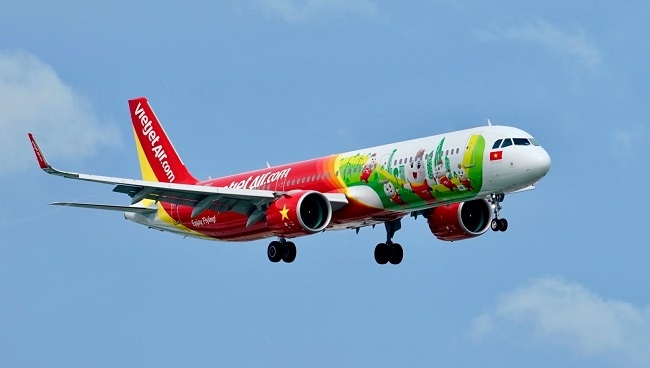 Vietjet mở lại đường bay thương mại tới Hàn Quốc