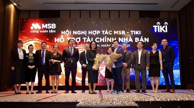 MSB và TIKI hợp tác phát triển dịch vụ tài chính – ngân hàng
