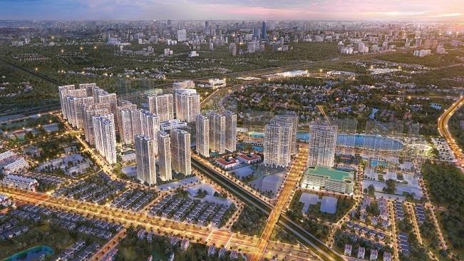 Vinhomes Smart City mở bán tòa tháp căn hộ đầu tiên của phân khu The Sakura