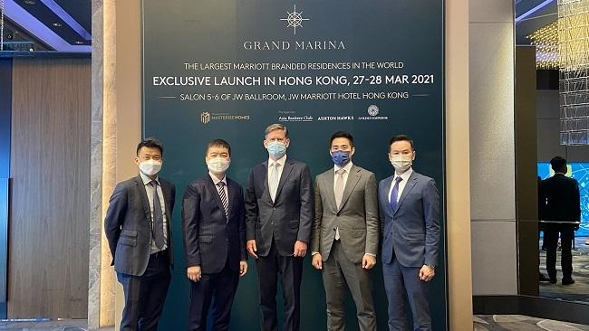 Masterise Homes đem Grand Marina Saigon ra thế giới