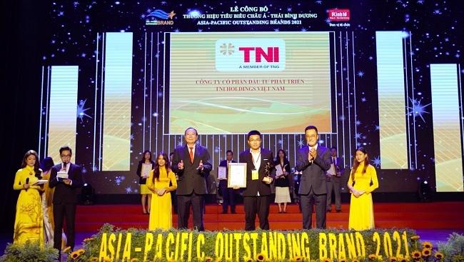 TNI Holdings Vietnam nhận giải thương hiệu tiêu biểu châu Á - Thái Bình Dương 2021