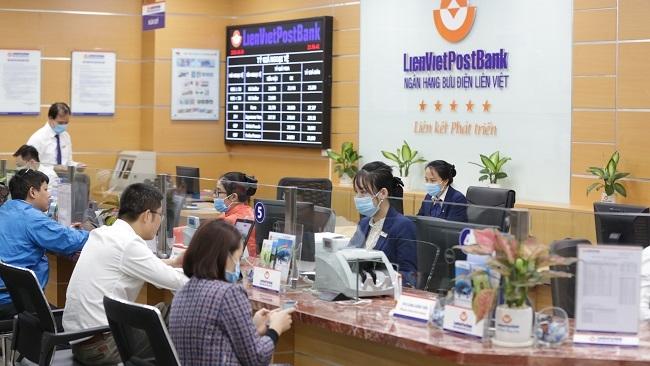 LienVietPostBank lãi hơn 2.000 tỷ đồng trong nửa đầu năm