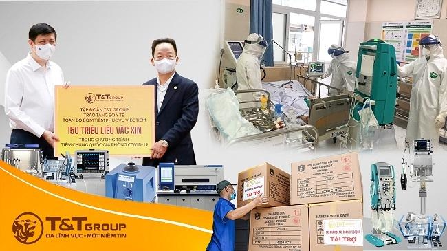 T&T Group tài trợ 20 tỷ đồng mua trang thiết bị y tế cho một số địa phương