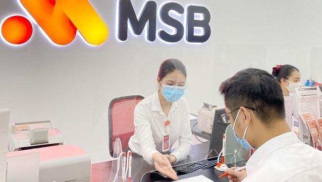 MSB hoàn thành 95% kế hoạch năm sau 6 tháng