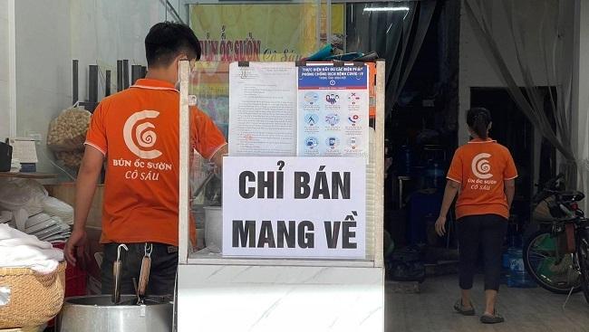 Một số cửa hàng tại Hà Nội được mở cửa trở lại từ trưa 16/9
