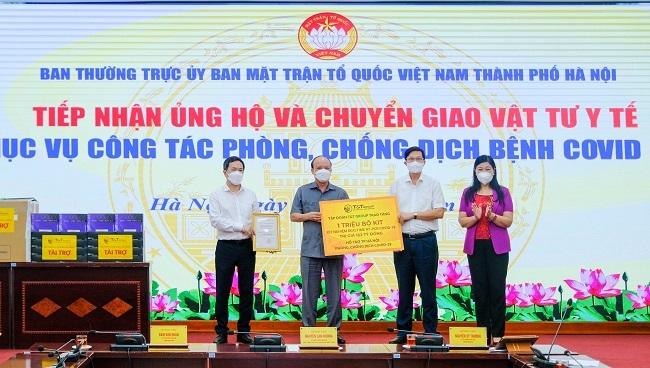 T&T Group tặng Hà Nội 1 triệu bộ kit xét nghiệm PCR Covid-19
