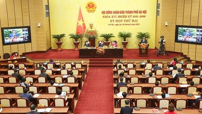 Nhiều nội dung quan trọng được bàn tại kỳ họp thứ 2 HĐND Hà Nội