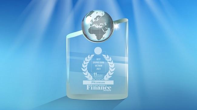 PVcomBank tiếp tục nhận 3 giải thưởng quốc tế