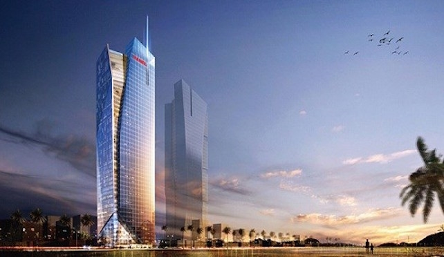 Hanel xây cao ốc 45 tầng cho Alphanam thuê
