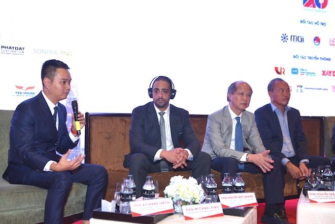 Ông Nguyễn Đức Quang, Phó Tổng Giám đốc Kinh doanh và Tiếp thị Vinhomes