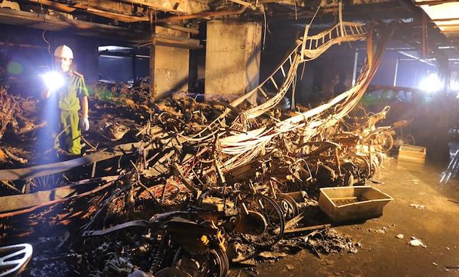 13 người chết và tiếng chuông báo động từ vụ cháy chung cư Carina Plaza
