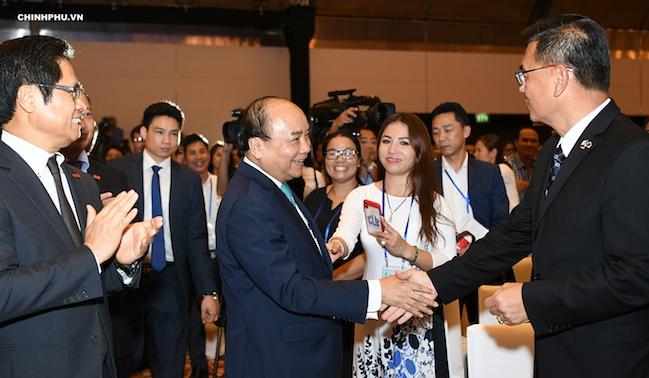 Thủ tướng Nguyễn Xuân Phúc: Việt Nam muốn làm bạn với những người giỏi nhất