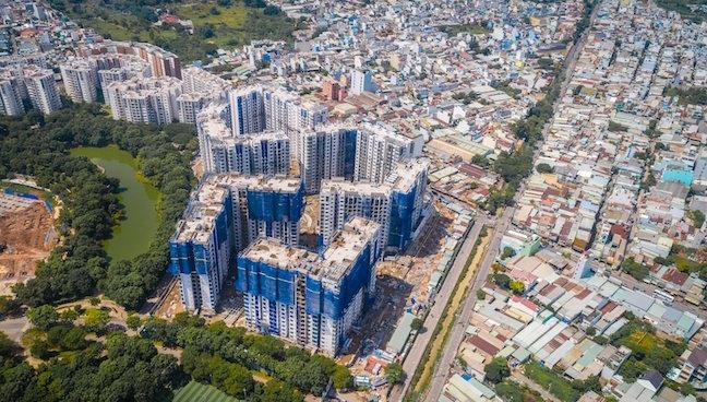 Nhà đất TP. HCM tăng giá mạnh