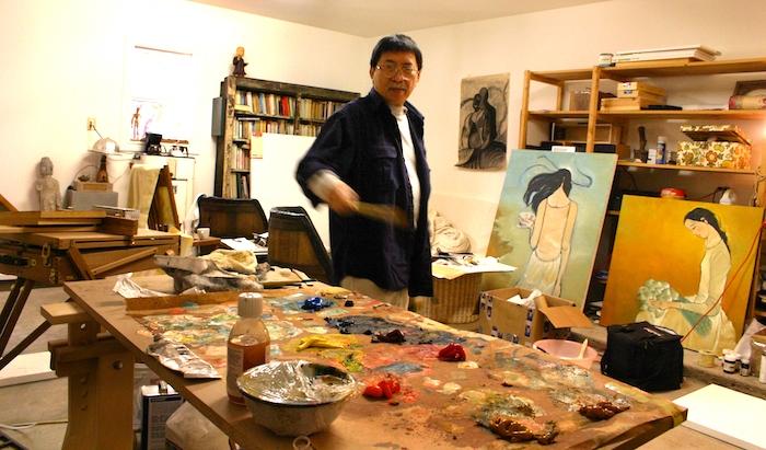 Hoạ sỹ Nguyễn Trung: Đi tìm cái đẹp trong nỗi tuyệt vọng của chính mình