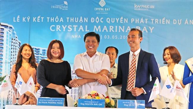 Hợp tác ba bên phát triển dự án Crystal Marina Bay tại Nha Trang