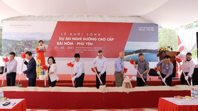 Indochina Kajima đầu tư khu nghỉ dưỡng 60ha tại Phú Yên