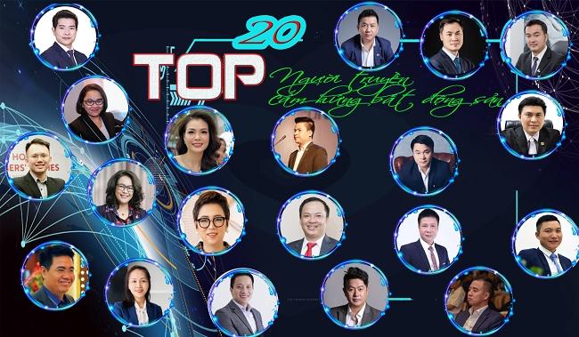 VARs công bố Top 20 người truyền cảm hứng bất động sản