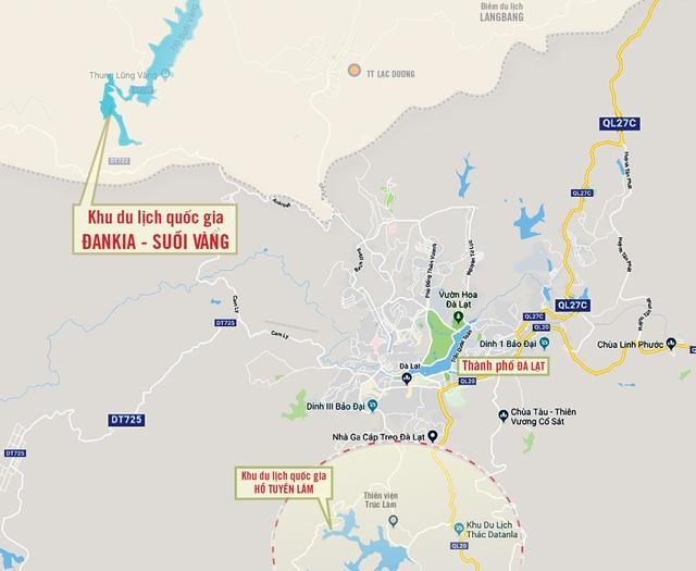 Hàng loạt dự án sân golf gặp khó tại Lâm Đồng