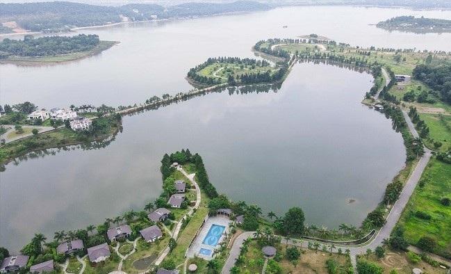 Vĩnh Phúc xử lý 5 dự án tại khu vực hồ Đại Lải