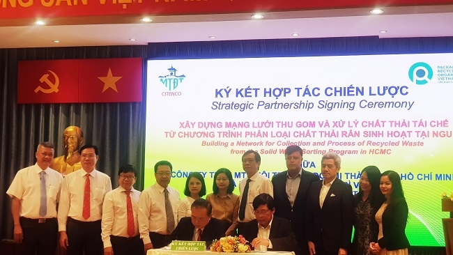 PRO Việt Nam hợp tác phân loại rác thải tại nguồn ở thành phố Hồ Chí Minh