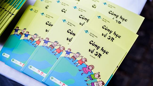 Sách 'Cùng học 3R': Bảo vệ môi trường từ những hành động đơn giản nhất