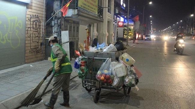 Tết của những công nhân vệ sinh môi trường