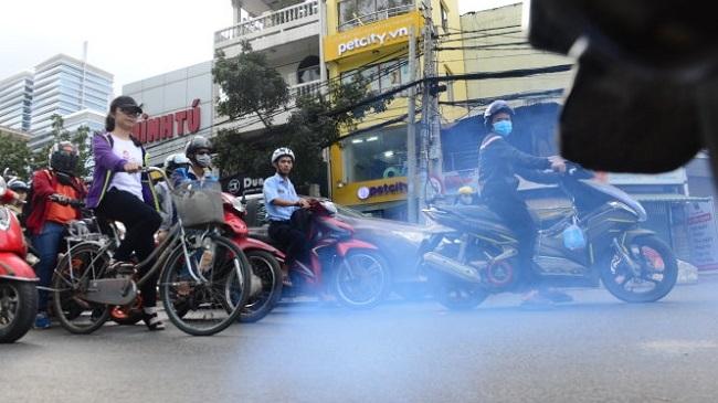 Kiểm soát chặt chẽ khí thải giao thông