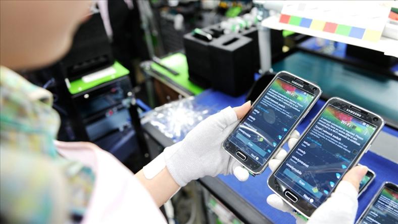 Xuất khẩu máy tính, hàng điện tử của Việt Nam tăng mạnh