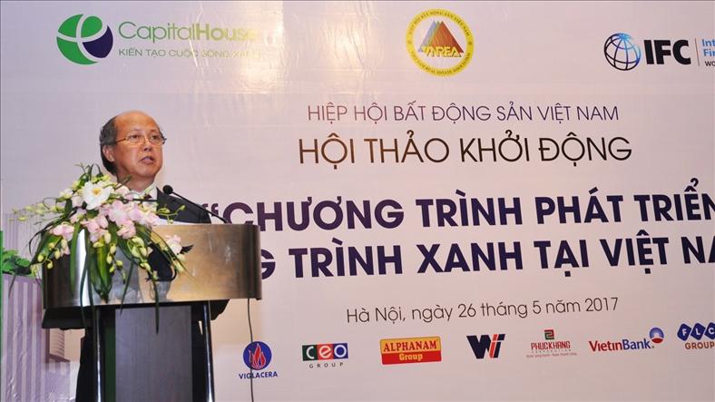 """Khởi động """"Chương trình phát triển công trình xanh tại Việt Nam"""""""