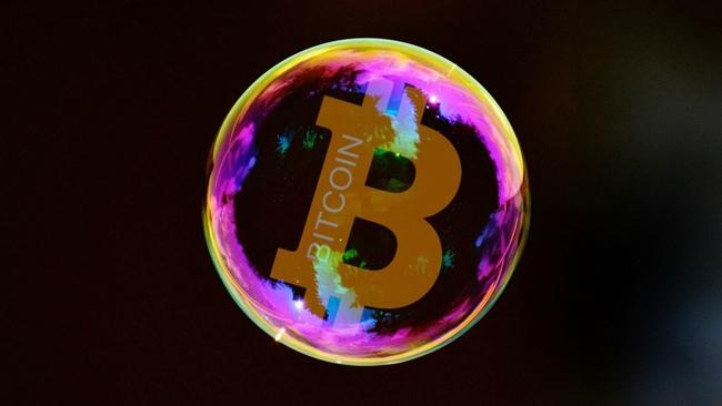 Giá Bitcoin hôm nay 22/1: Hình Sin dốc xuống hay bong bóng tiền ảo đã rò?