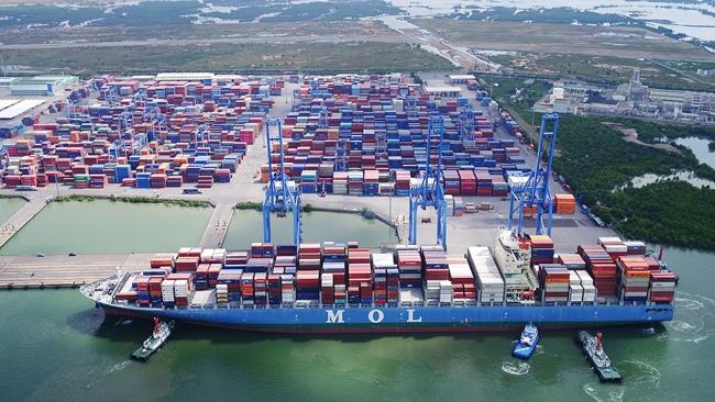 Vận tải biển khởi sắc