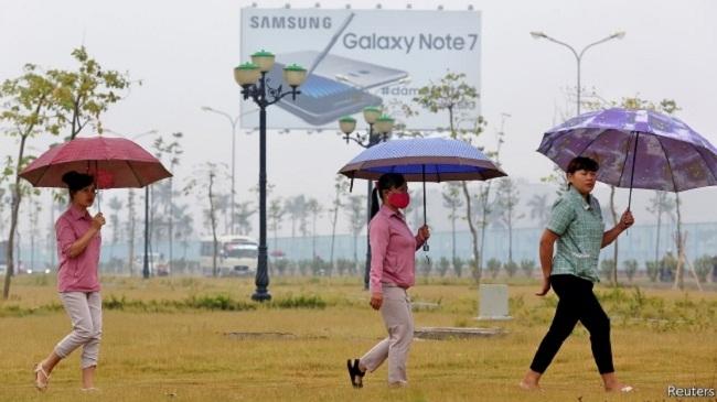 Nơi sản xuất nhiều điện thoại Samsung nhất thế giới: 60.000 nhân công, ăn 13 tấn gạo mỗi ngày