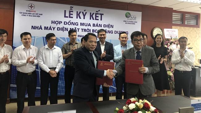 BCG Băng Dương ký hợp đồng bán điện mặt trời cho EPTC