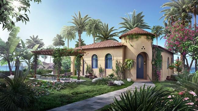 Biệt thự nghỉ dưỡng phong cách Địa Trung Hải tại Mũi Né
