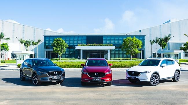 Thaco công bố giá xe Mazda màu sơn mới