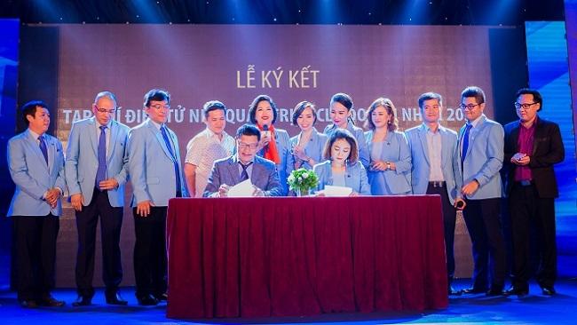 Tạp chí TheLEADER ký thỏa thuận truyền thông với CLB Doanh nhân 2030