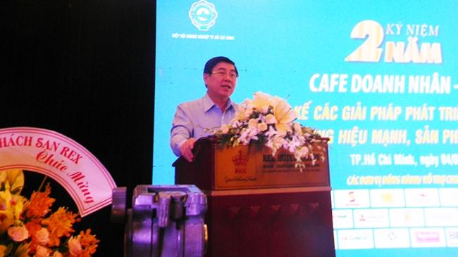 Chủ tịch TP. HCM: Tại sao một thành phố lớn nhất nước mà thương hiệu mạnh lại chiếm số nhỏ?