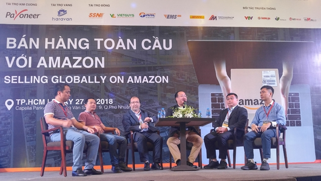 'Đưa hàng Việt lên Amazon không khó, làm sao để bán chạy mới khó'